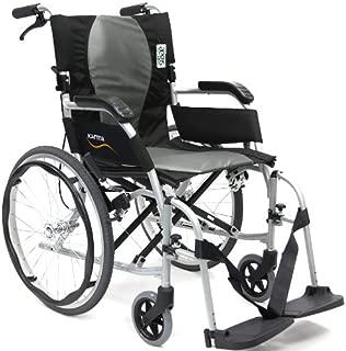 Karman Ergonomic Wheelchair Ergo Flight with Quick Release Axles in 18