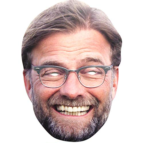Liverpool FC Jürgen-Klopp-Maske (Einheitsgröße) (Bunt)