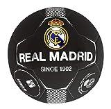 Real Madrid Ballon de football unisexe pour enfant, noir, taille 0