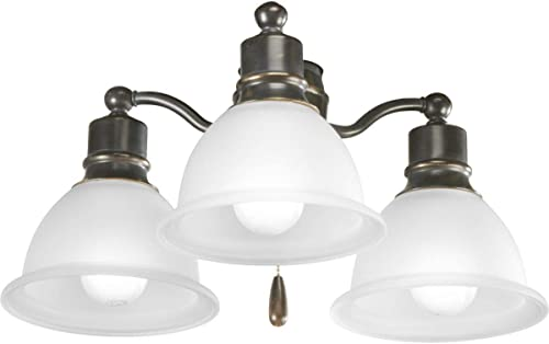 2021 Madison online sale Collection Three-Light Ceiling Fan outlet sale Light online