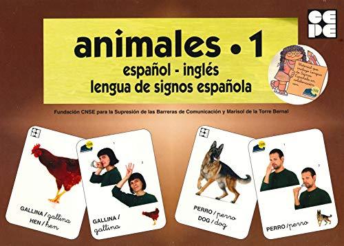 Vocabulario fotográfico elemental - Animales 1 (granja) (Vocabulario fotográfico elemental (español,inglés,lengua de signos española))