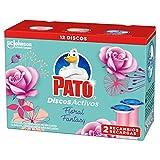Pato Pato - Discos Activos Wc Recambio Floral Fantasy, 2 Recambios, 12 Discos 150 g