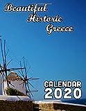 Beautiful Historic Greece Calendar 2020: 14 Month Desk Calendar Showing the Beauty of Ancient and Modern Greece