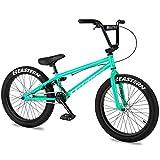 Eastern Bikes Cobra Bicicleta BMX de 20 pulgadas, color verde azulado, marco de acero de alta resistencia