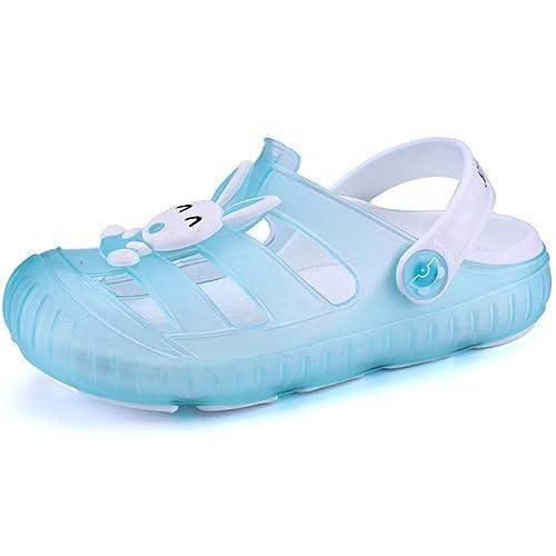 1accc38cf2e0d Gaatpot Enfant Sabots Mules Fille Garçon Tongs Sandales de Plage à Enfiler  Chaussures Clog Chaussons Pantoufles