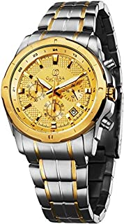 Olivera OGS712-GOLD/GOLD Watch For Men