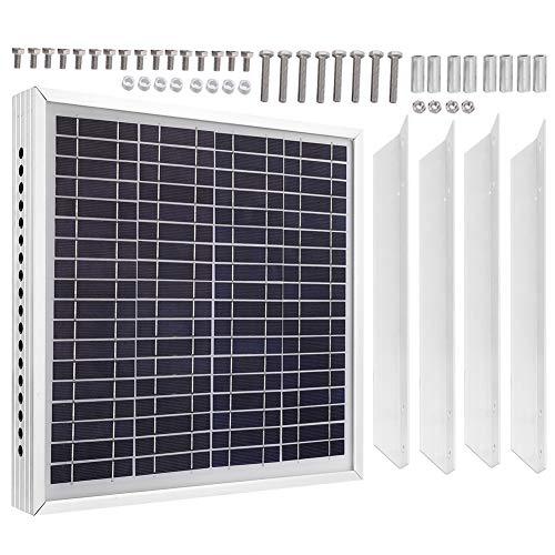 Cikonielf 12V 15W Panel Energía Solar Ventilador Escape Kit Ventilación Ventilador Techo para Ventilador Invernadero Ventilador Escape Solar Ventilador Escape