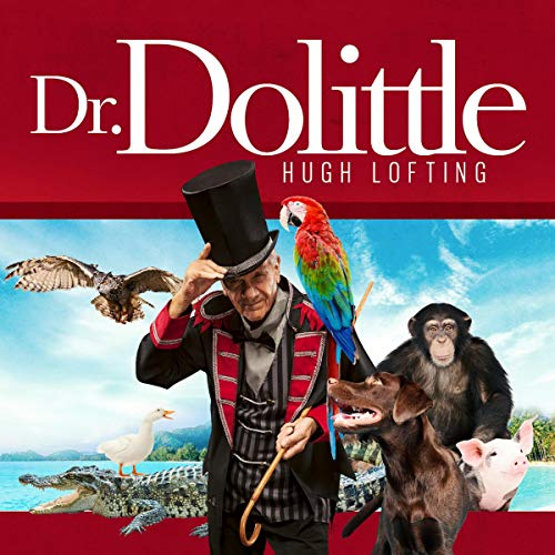 Dr. Dolittle audiobook cover art