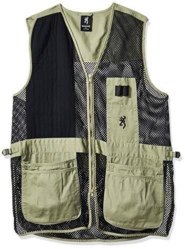 Browning, Trapper Creek Vest, Medium, Sage/Black