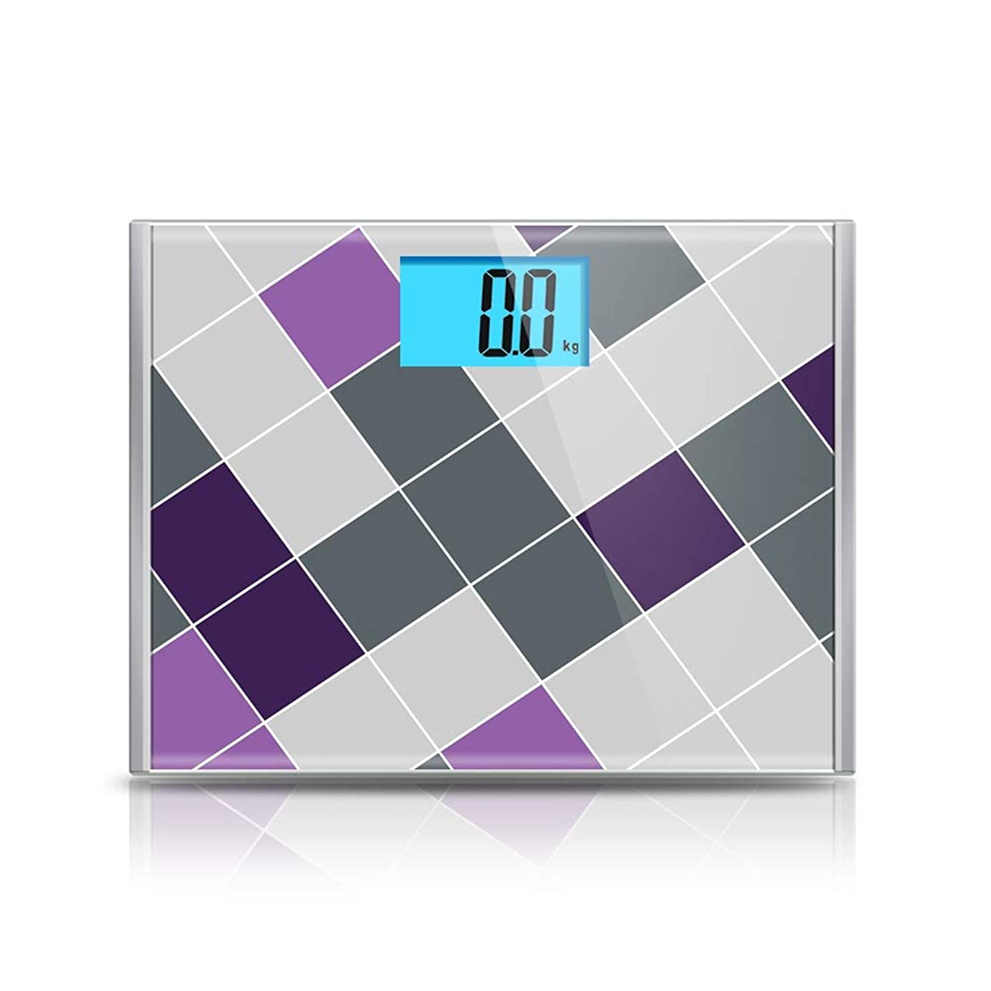 安心統合妨げる床科学的なスマート電子体脂肪スケール大規模正確な計量LEDデジタル重量 - 15.4 x 11.8 x 1インチ ZHHCP