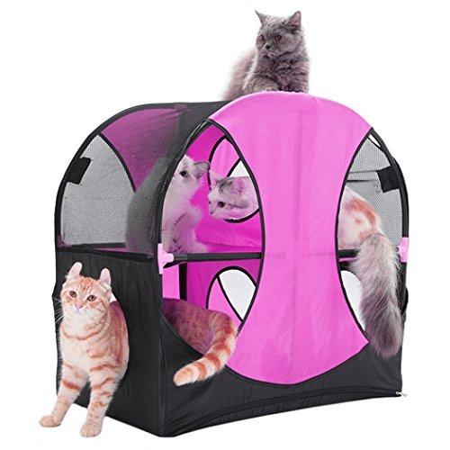 Casa del gatto, Legendog Cat House Multifunzionale Rimovibile Lavabile Catena del Tunnel del Gatto del Gatto del Riparo del Giocattolo per i Gattini