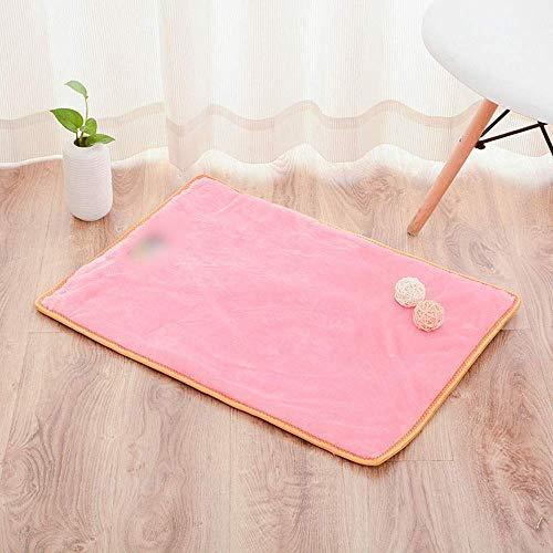 YLCJ Opvouwbaar multifunctioneel opklapbed voor huisdieren voor huisdieren Orthopedische bank voor hoekbank stijl bank met ademend katoen voor katten (kleur: roze, grootte: XL), XL, roze
