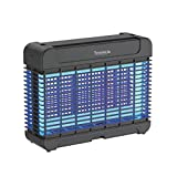 Indoor Home Electric Bee Zapper - Heavy Duty Yard Coverage Electronic Anti Flying Bee Killer Lantern Lamp Trap W/ 16PC Uv A Led Light Bulb Attractant, Lure Fly Bee- SereneLife PSLBZ54