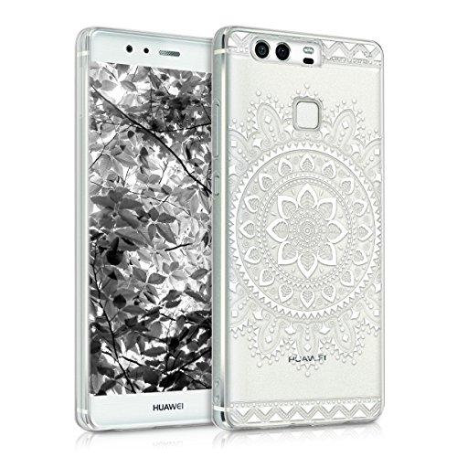 kwmobile Huawei P9 Cover - Custodia per Huawei P9 in Silicone TPU - Backcover Protezione Oro Rosa Metallizzato