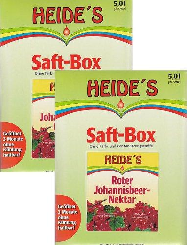 Roter Johannisbeer-Nektar, 2 x 5 Liter