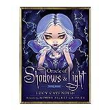 YOYOTECH Oraclee of Shadows and Light Juego de Mesa de Fiesta Familiar en inglés Completo 45 Cartas Baraja Tarot Adivinación Cartas de Destino