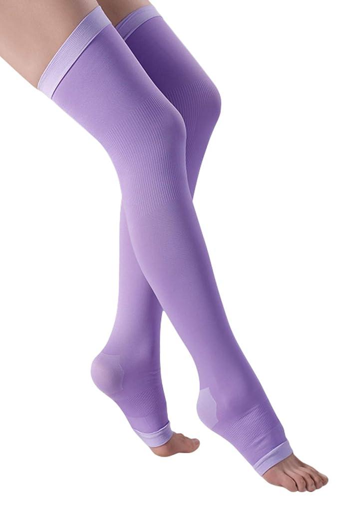 主導権一次成長する着圧ソックス レディース ロング 健康?美容ソックス 着圧 靴下