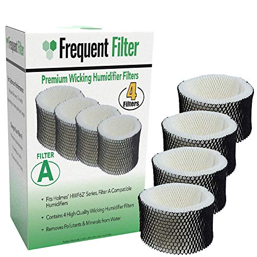 Frequent Filter - Holmes Compatible Humidifier Filter - HWF62 & HWF62CS, Filter A, (4-Pack)