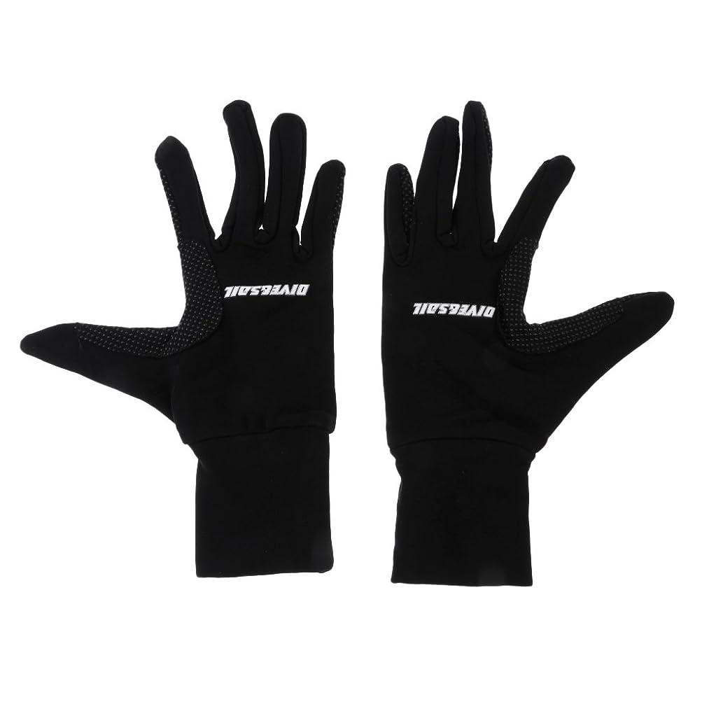小康印象皿SunniMix 耐久性 ナイロン ダイビンググローブ 手袋 シュノーケリング サーフィン スキューバ用 全2サイズ