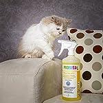 Produit Nettoyant et Éliminateur d'odeurs Bio pour Animaux, Chiens, Chats et autres Probisa Micro Vet 813 – Spray désodorisant pour intérieur avec animal, niche, litière, cage… (Ensemble complet – 0,5 litre de concentré donnent 25 litres prêt à l'emploi) #3
