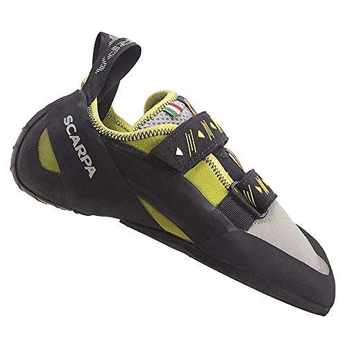 SCARPA Men's Vapor V Climbing Shoe, Lime, 47 EU/13 M US