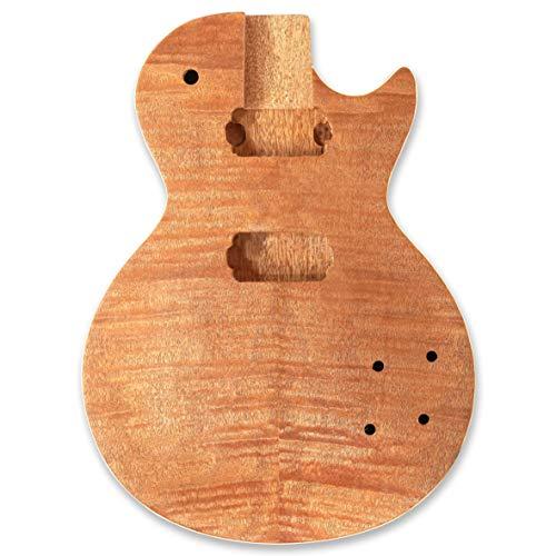 BexGears Guitar Unfinished Body,okoume wood body, maple veener top
