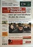 NOUVELLE REPUBLIQUE (LA) [No 19503] du 19/12/2008 - CEUX QUI VONT BENEFICIER DU PLAN DERELANCE MADOFF - LE GRAND PUBLIC EST TOUCHE CHINON - 400 000 EUROS ENVOLES DANS UNE ARNAQUE NIGERIANE TOURS - 400 LYCEENS BLOQUENT LA RUE TOURAINE - VINS DE LOIRE REIGNAC-SUR-INDRE - L'ATTELAGE REVIENT EN 2009 FOOT - TOURS ET REIMS - NOEL AU CHAMPAGNE