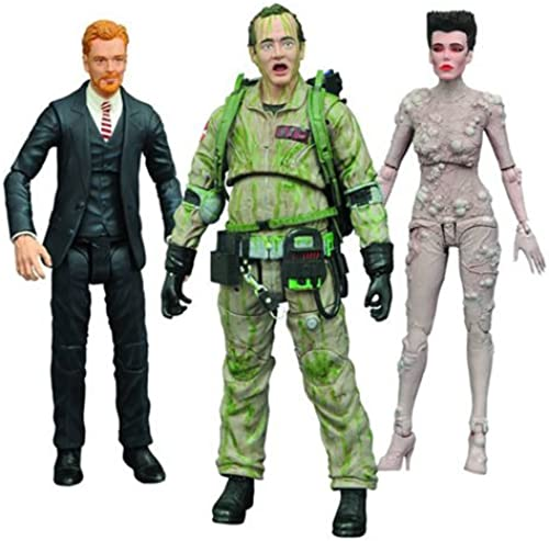 Ghostbusters Series 4 Ghostbusters w en Serie 4 Actionfigur Set 7 Zoll