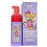 WOW Skin Science Pretty Bubbles - Jabón facial espumoso con hoja de aloe Barbadensis y extracto de flor de caléndula, 100 ml