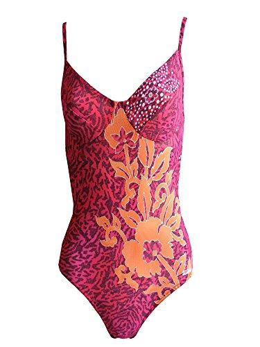 Solar tan thru 1022B85 maillot de bain 1 pièce avec armatures-bonnet b rouge/orange ou femme bonnet c