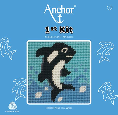 Anchor Tapisserie-Kit, Mehrfarbig, 10 x 10cm
