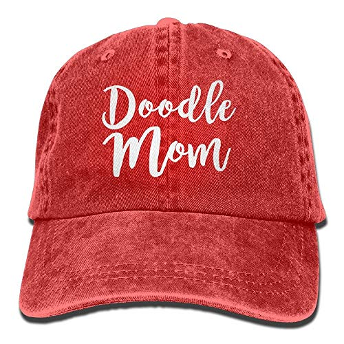 Doodle Mom Adult Cowboy Hat Baseball Cap Adjustable Athletic Customized Best Graphic Hat for Men and Women