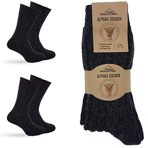 Dicke Alpaka-Socken für Damen