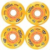 HyperWheels PRO 250Ruote per Pattini, Unisex, per Adulto, Unisex Adulto, 0014759, Aranci...