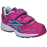Reebok–Almotio Velcro Pink Multi–Zapatos Velcro, Rojo (fucsia), 30