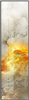 Haib Toiles De Nuages colorés Toiles, Abstrait Paysage Sky Sky Posters, Art Wall Pictures pour Le Salon Allele (Color : ...