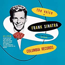 """The Voice of Frank Sinatra"" CD cover"