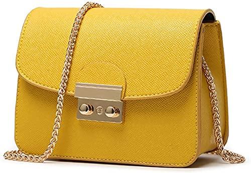 Oinna Bolso bandolera para mujer, moderno, antirrobo, bolso de mano, bolso de mano, bolso de noche, 17 x 8 x 13 cm, color, talla 17*8*13cm / 7.2*3.4*5.6 IN