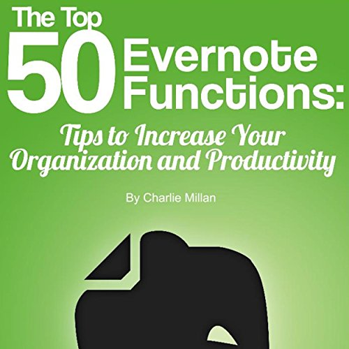 The Top 50 Evernote Functions audiobook cover art