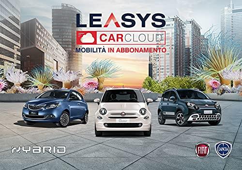 Iscrizione abbonamento Leasys CarCloud City Hybrid | Fiat Panda e 500
