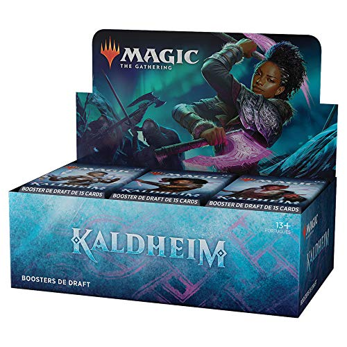 Magic The Gathering: Kaldheim| Bundle Draft Booster | 36 Boosters | 15 cards por Booster | Português
