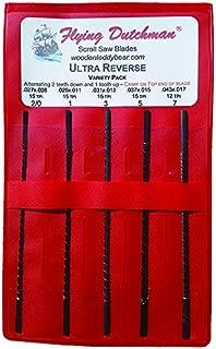 ultra reverse scroll saw blades