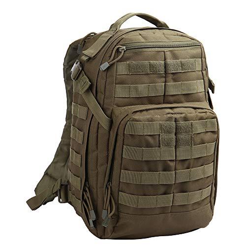LWGY Mochila táctica de asalto de 24 horas al aire libre para entusiastas militares de senderismo mochila de aventura salvaje paquete de camuflaje de alto rendimiento mochila multiusos