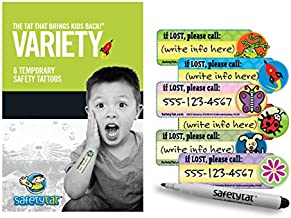 safety stickers for kids