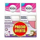 Veet Cera Depilatoria Recambio Roll-On Eléctrico EasyWax con Manteca de Karité para...