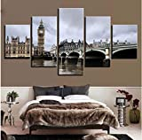 Canvas Paintings Home Decor Wall Art Pictures 5 Pieces