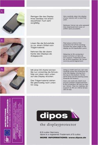 dipos I 2x Schutzfolie klar kompatibel mit Asus ZenFone 2 (ZE551ML) Folie Displayschutzfolie