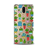 Lex Altern TPU Case for Lenovo Phone K8 Note K6 Note 2017 K5 Plus Z5 Cutie Kids Green Cacti Girly Slim fit Decor Gift Lightweight Cover Phone Smooth Print Kawaii Design Clear Flexible Soft Cactus