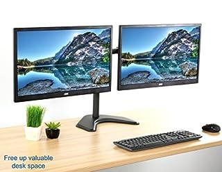 عروض VIVO شاشة عرض LCD ثنائية مع قاعدة