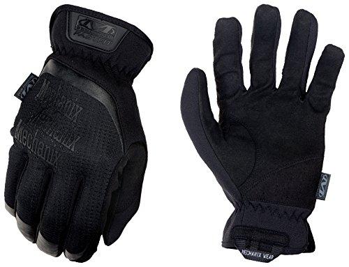 Mechanix Herren FastFit Tactical Touch Handschuhe, schwarz (Covert), Large